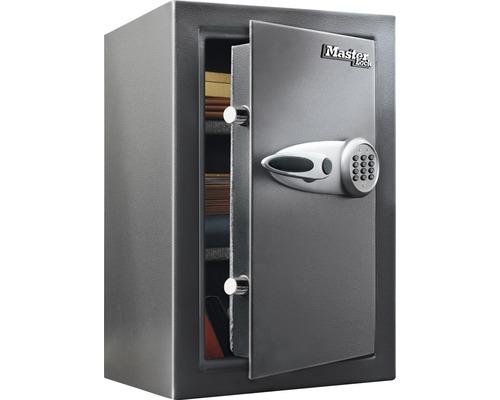 Coffre-fort à poser Master Lock T6-331ML gris avec serrure électronique