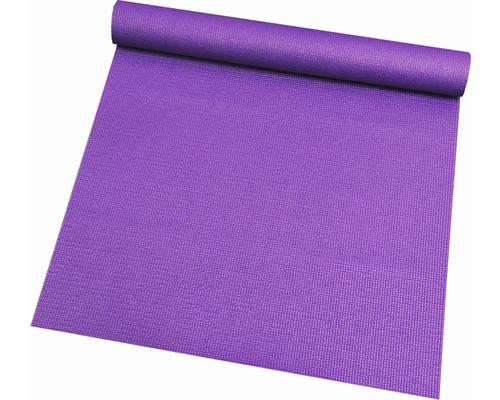 Tapis de fitness antidérapant Sports violet 66x185 cm