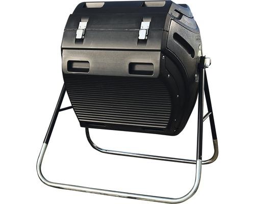 Silo de compostage à tambour 302 litres avec châssis en acier