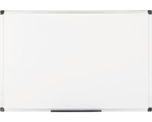 Tableau blanc cadre alu verni Maya 120x120 cm