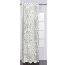 Rideau à œillets Flora blanc 140x240 cm-thumb-0