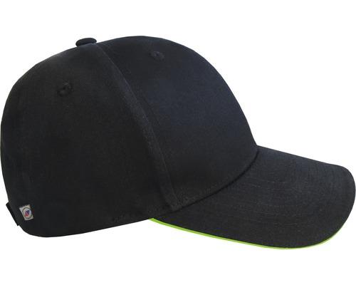 TX Workwear Kappe Universalgröße schwarz/limette