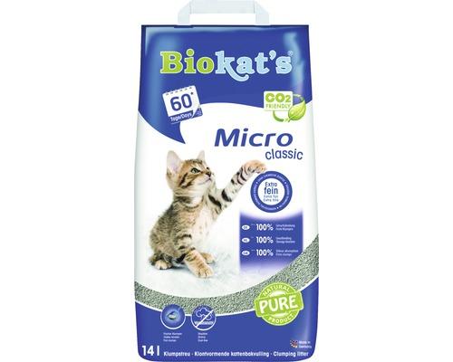 Katzenstreu Biokat''s Micro classic klumpend 14 l