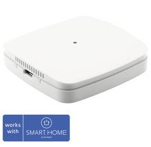 Capteur de qualité de l''air Eurotronic, capteur de VOC, température et humidité de l''air (point de rosée) 68 x 68 x 17 mm blanc - compatible avec SMART HOME by hornbach-thumb-0