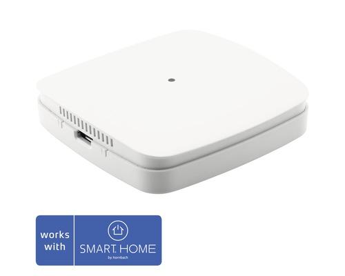 Capteur de qualité de l''air Eurotronic, capteur de VOC, température et humidité de l''air (point de rosée) 68 x 68 x 17 mm blanc - compatible avec SMART HOME by hornbach-0