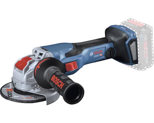 Meuleuse d'angle sans fil BITURBO avec X-LOCK Bosch Professional GWX 18V-15 C avec poignée supplémentaire Vibration Control et L-BOXX 136, sans batterie ni chargeur