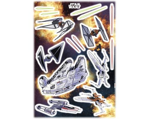 Sticker mural Star Wars Spaceships 50x70cm
