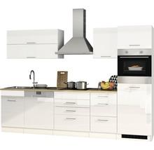 Cuisine complète Held Möbel Mailand blanc haute brillance 300 cm avec électroménager 613.1.6210-thumb-5
