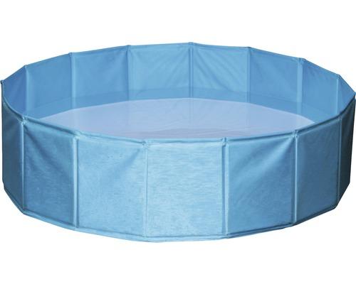 Piscine pour chien Ø 80 x 20 cm bleu