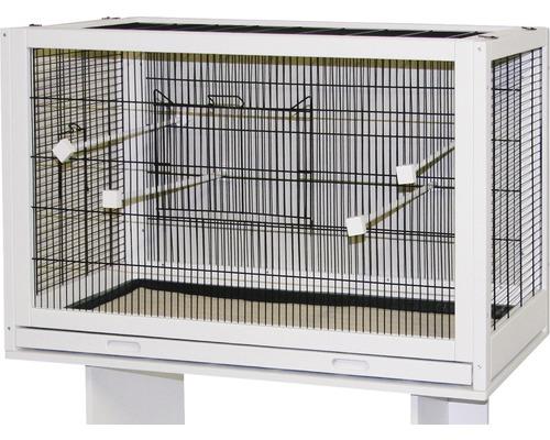 Vogelkäfig Fips 100 x 50 x 60 cm weiß