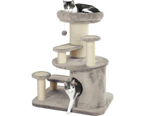 Arbre à chats KERBL Oldie avec plaque de base extra forte 77 x 57,5 x 93 cm beige