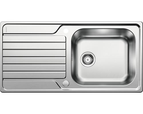 Évier BLANCO DINAS XL6S 524255 acier inoxydable finition brossée