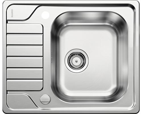Évier BLANCO DINAS 45S Mini 525123 acier inoxydable finition brossée
