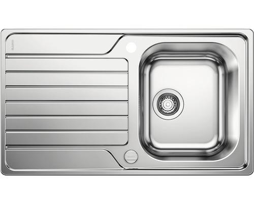 Évier BLANCO DINAS 45S 523378 acier inoxydable finition brossée