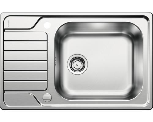 Évier BLANCO DINAS XL 6S Compact 525120 acier inoxydable finition brossée