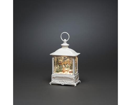 Lanterne flottante LED «Père Noël volant» couleur d''éclairage blanc chaud