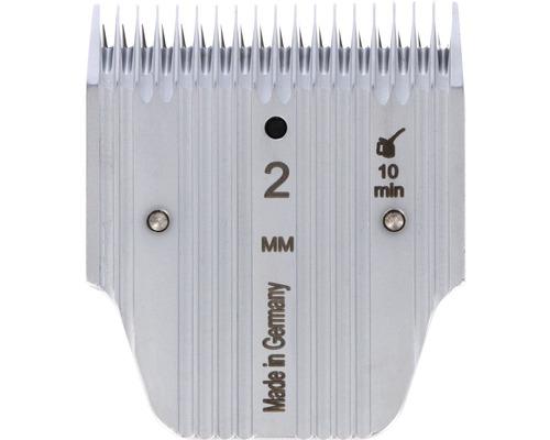 Tête de rasage Favorita 2,0mm, pour dents courtes