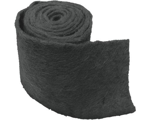 Protection hivernale Videx bande d''enroulement en feutre de jute 25x300 cm anthracite