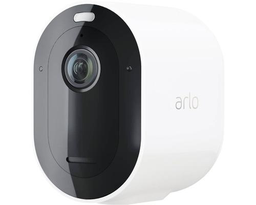 Caméra de sécurité arlo Pro3 Smart Home Add-On blanc sans fil 2K-HDR caméra de surveillance supplémentaire et système d''alarme