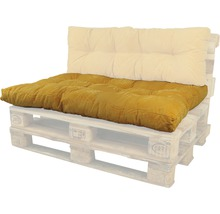 Coussin lounge Bendie ocre 80x120 cm-thumb-0