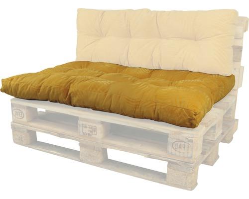Coussin lounge Bendie ocre 80x120 cm