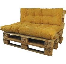 Coussin lounge Bendie ocre 40x120 cm-thumb-1