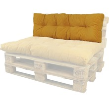 Coussin lounge Bendie ocre 40x120 cm-thumb-0