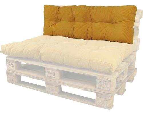 Coussin lounge Bendie ocre 40x120 cm