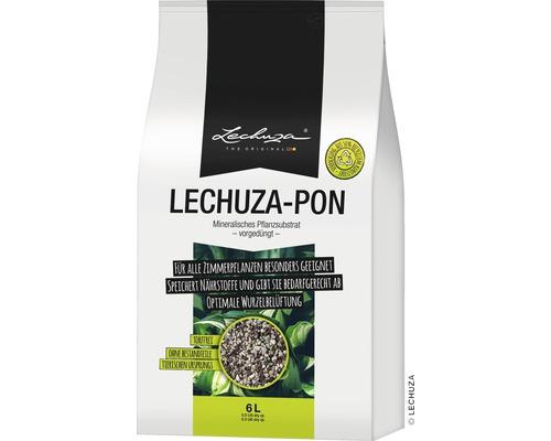 Substrat pour plantes Lechuza Pon 6 litres