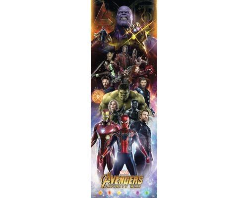 Panneau décoratif Infinity War 52x156 cm