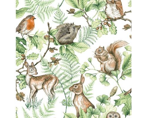 Papier peint intissé 108569 Kids@Home Woodland Animals