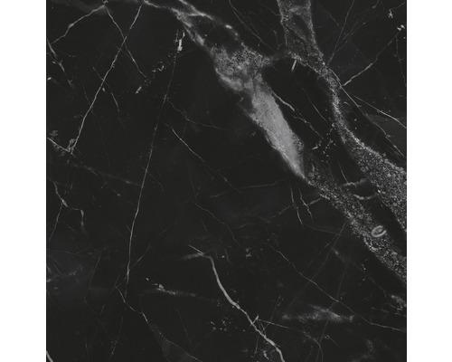 Carrelage sol et mur Carracci poli anthracite 60 cm x 60 cm
