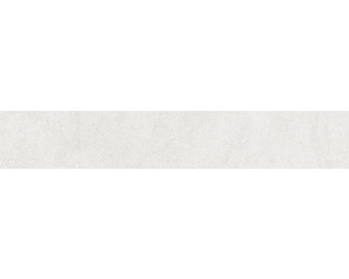 Plinthe Greenwich Perla gris mat 10x60 cm