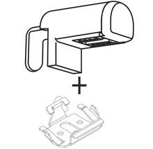 Équerre de serrage pour fenêtre en plastique, pour store plissé sur mesure R3C2 anthracite-thumb-3