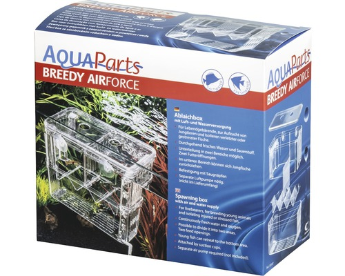 Pondoir pour poisson AquaParts Breedy Airforce 18 x 8,4 x 15,7 cm