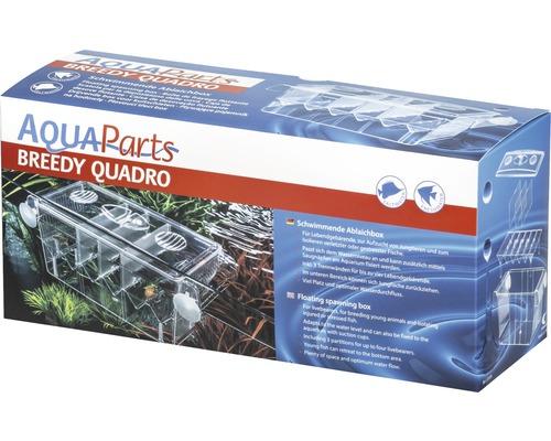 Pondoir pour poisson AquaParts Breedy Quadro flottante 27 x 9,5 x 11,5 cm