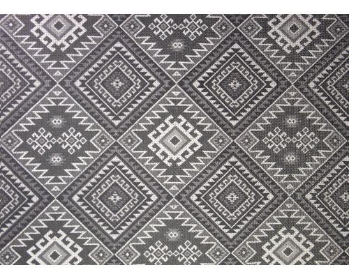 Tapis antidérapant anthracite blanc 120x170 cm