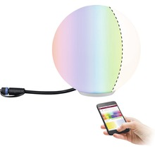 Objet lumineux Plug & Shine ZigBee Paulmann RGBW IP65 2,8W110 lmØ 200 mm Globe blanc 230/24 V–Compatible avec SMART HOME by HORNBACH-thumb-1