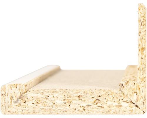 Revêtement décoratif avec languette allongée Pertura pour huisserie CPL blanc 86,0x198,5 pour tirant droite/gauche