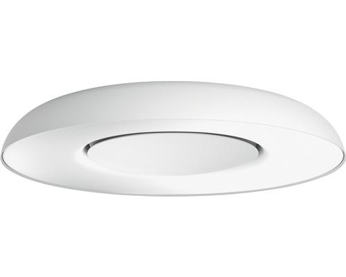 Plafonnier LED Philips hue Still White Ambiance 27W 2400 lm blanc chaud - blanc lumière du jour HxØ 71x391 mm mm avec variateur – compatible avec SMART HOME by hornbach