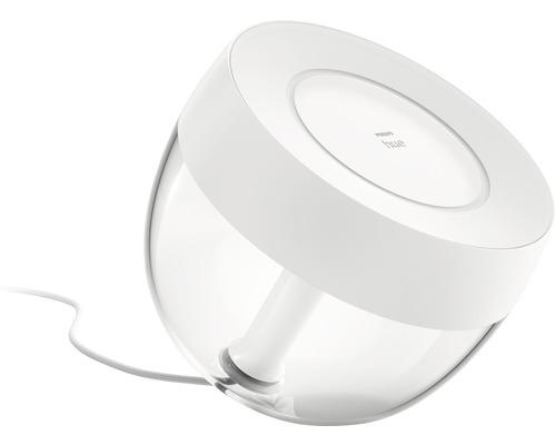 Lampe de table Hue LED RVBB 8,1W 570 lm hxlxp 194x188x204 mm Iris blanc White + Color Ambiance