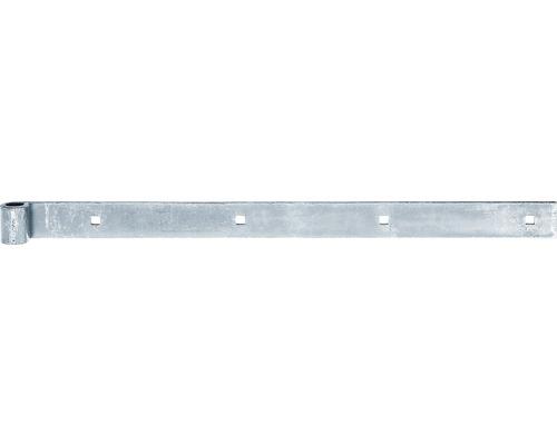 Penture forme droite 500 x 35 x 24 mm galv. zinguée 10 pièces