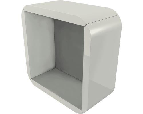 Armoire suspendue Baden Haus Ceylan 32x32 cm gris brillant