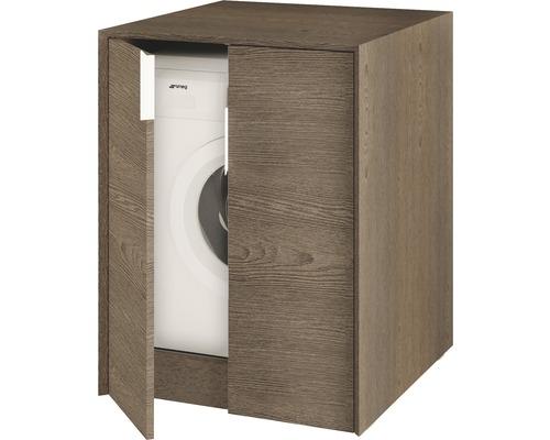 Meuble pour machine à laver Baden Haus Space 93x70 cm frêne foncé