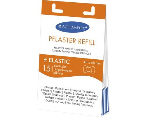 Recharge de pansements pour bout de doigt ELASTIC pour distributeur de pansements EasyAid