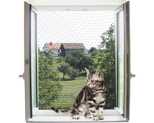 Filet de protection pour chat 4 x 3 m transparent