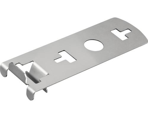 Clip de bordure verticale supérieur pour dalles 20 mm