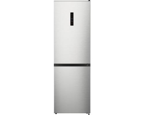Réfrigérateur-congélateur Wolkenstein WKG300.4A++IXDNF lxhxp 59.5 x 186 x 58.9 cm compartiment de réfrigération 207 l compartiment de congélation 93 l