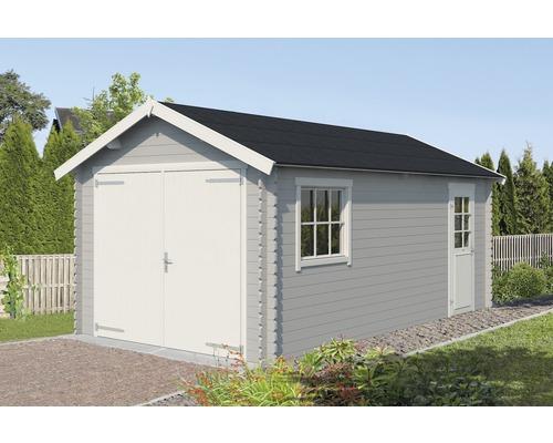 Garage simple Dillon 320 x 560 cm gris clair