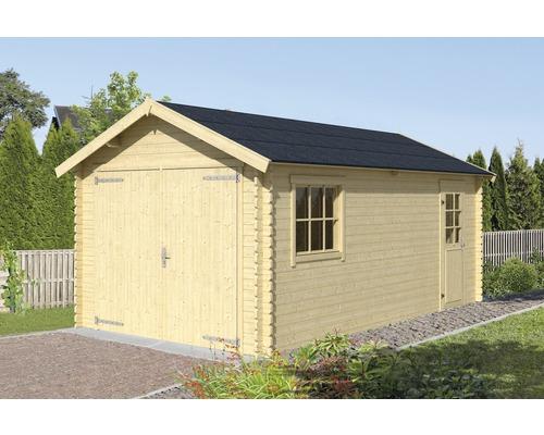 Garage simple Dillon 320 x 560 cm naturel